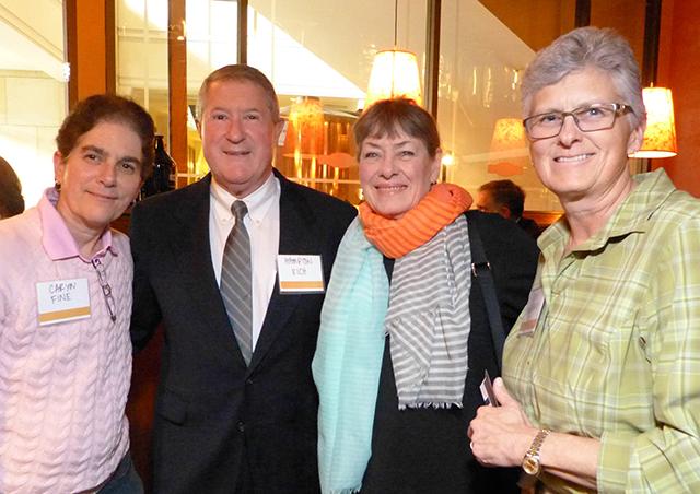 Caryn Fine, Hampton Rich, Terry Saario and Beth Swedberg