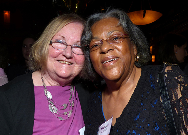 Carol Lacey and Thelma McKenzie