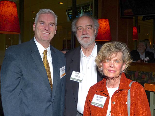 Rep. Tom Emmer and Tom and Marlene Kayser