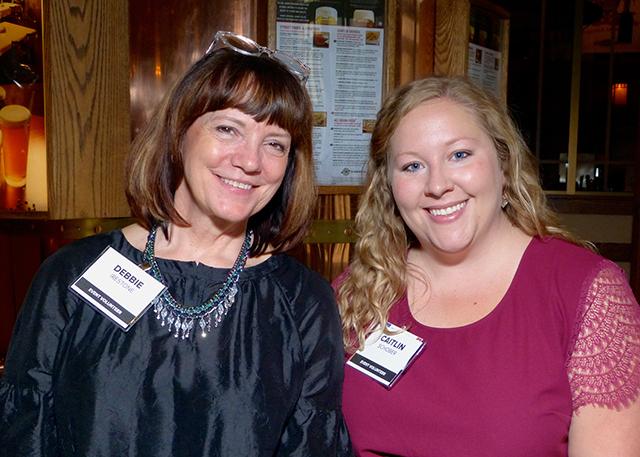 Debbie Irestone and Caitlin Schober