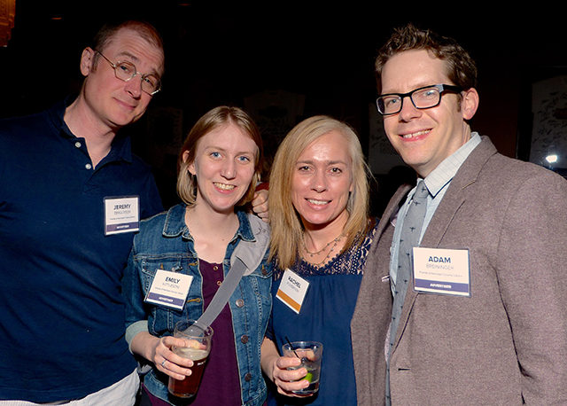 Jeremy Bergerson, Emily Kittleson, Rachel Fulkerson and Adam Breininger