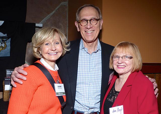 Diane Hofstede, Tony Hofstede and Anna Margl