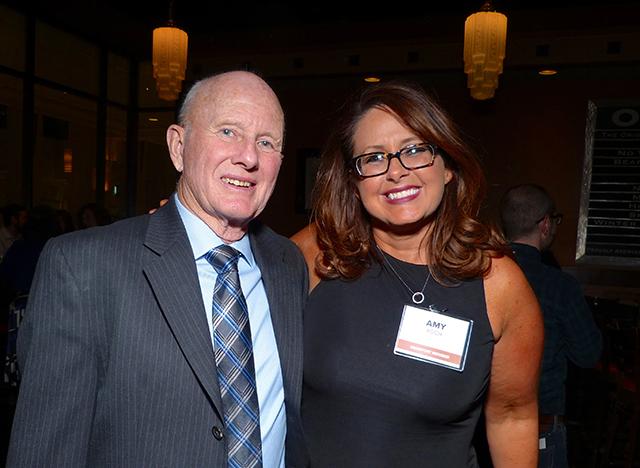 Larry Hance and Former Senate Majority Leader Amy Koch