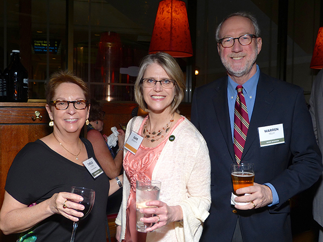Chelle Stoner, Barb Bergseth and Warren Kelly
