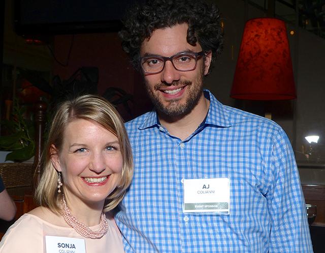 Sonja and AJ Colianni
