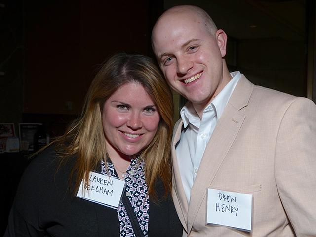 Lauren Beecham and Drew Henry