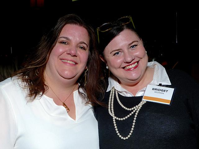Cari Hatcher and Bridget Reddan