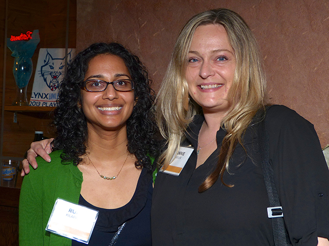 Rupa Kilaparti and Annie Weiler