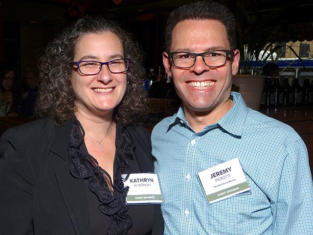 Kathryn Klibanoff and Jeremy Pierotti