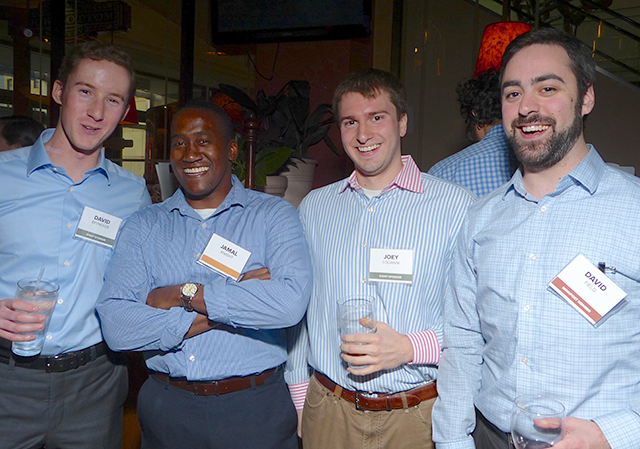 David Reynolds, Jamal Knight, Joey Colianni and David Field