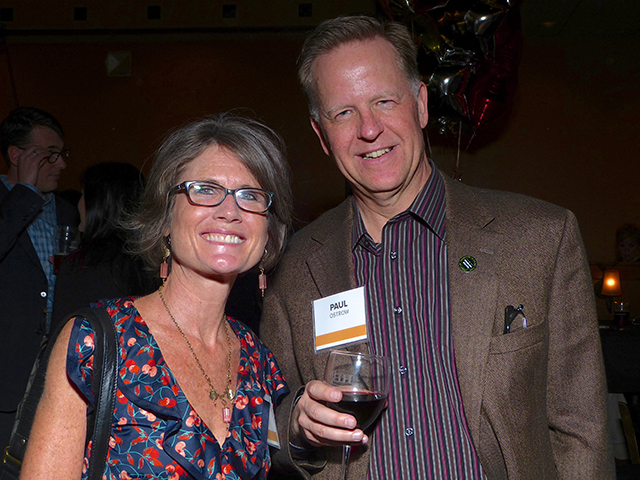 Jeanne Massey and former Minneapolis City Council member Paul Ostrow