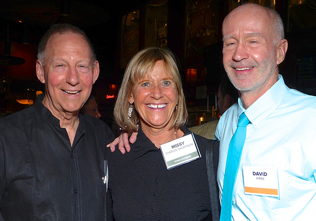 Gar Hargens, Missy Staples Thompson and David Piper