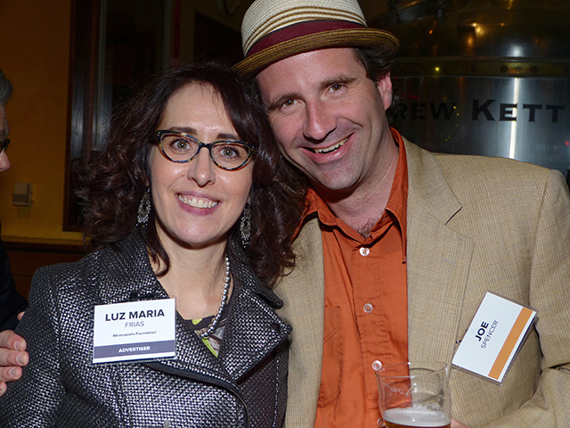 Luz Maria Frias and Joe Spencer