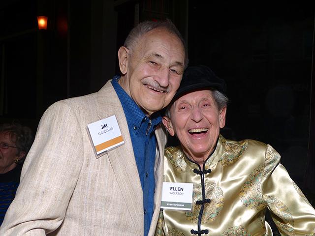 Jim Klobuchar and Ellen Wolfson