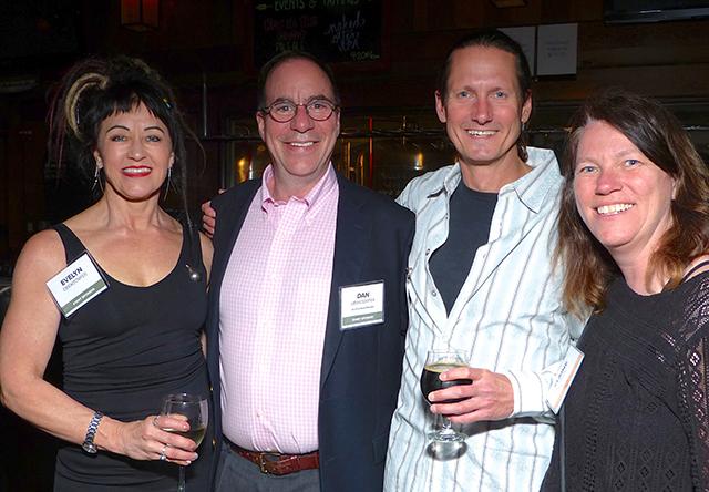 Evelyn Oberdorfer, MinnPost board member Dan Oberdorfer, Mark Sommerfeld and Ela