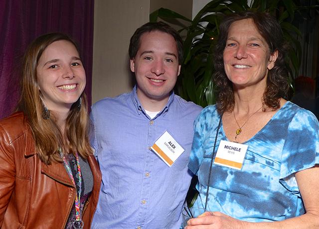 Jennifer Heegaard, Alex Samuelson and Michele Bevis