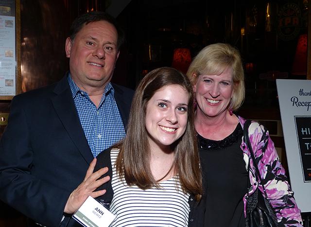 Paul Weirtz, Ann Weirtz and Mary Weirtz