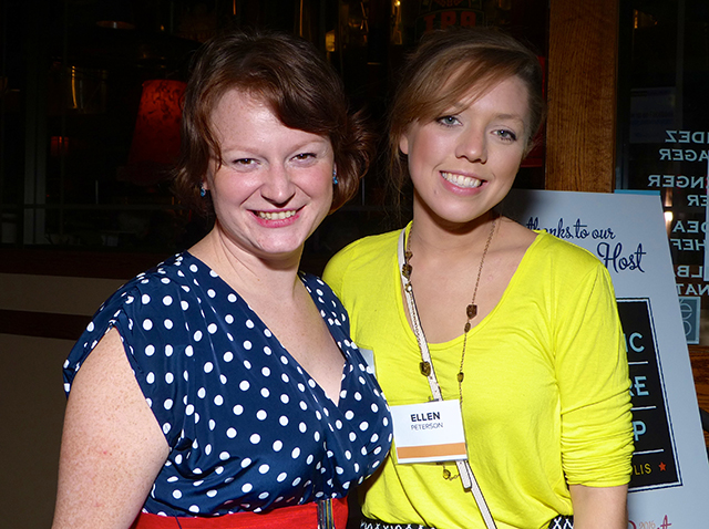 Bethany Winkels and Ellen Peterson