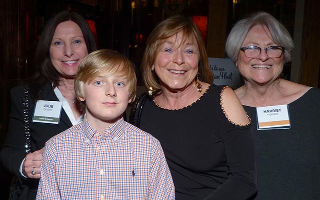 Julie Graves, Finn and Anna Vagle and Harriet Horner