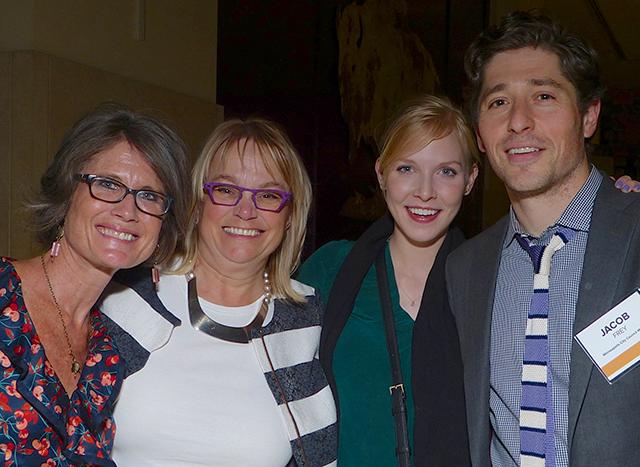 Jeanne Massey, Roann Cramer, Sarah Clarke and Minneapolis City Council Member Ja