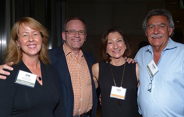 MinnPost Board Member Kim Kieves, Randy Buffie, Lila Tully and Gary Kieves