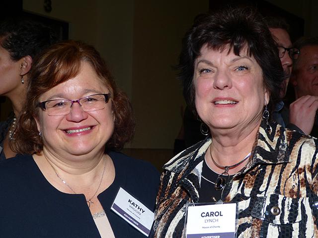 Kathy Wiggin and Carol Lynch