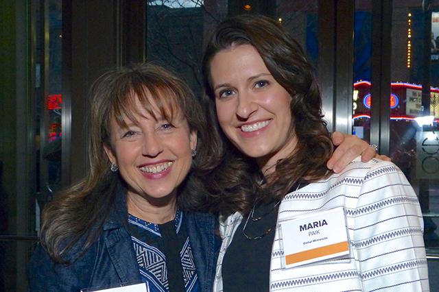 Wendy Wicks and Maria Paik