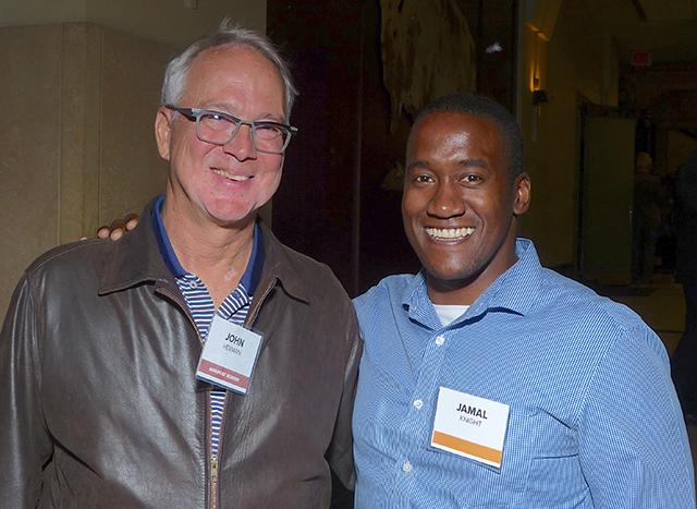 John Herman and Jamal Knight