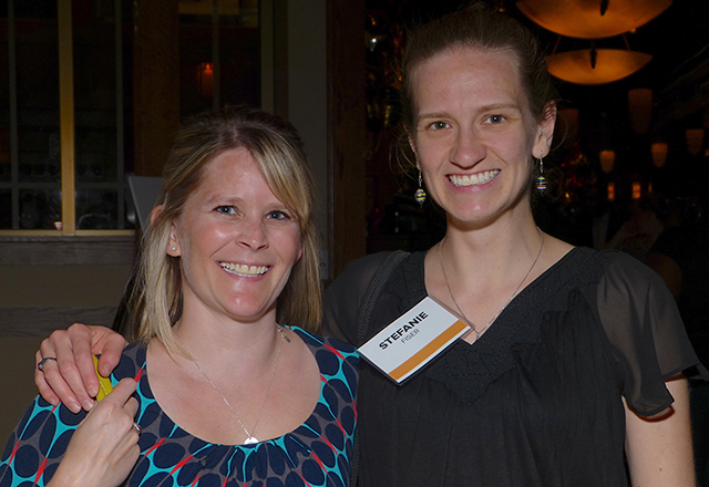 Sarah O'Banion and Stefanie Fiser