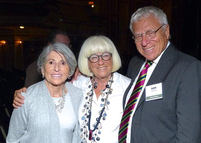 Beverly Fitzgerald, Sylvia and Sam Kaplan