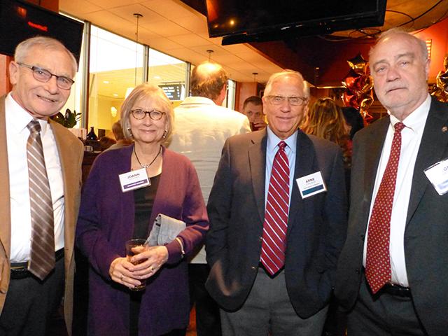 Gary and Joann Eichten, former Gov. Arne Carlson and Tom Kayser