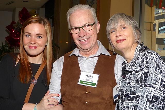 Kylah Lenz, Mark Abeln and Deb Cohen