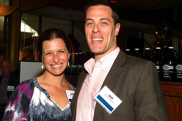 Sara and Ian Schonwald