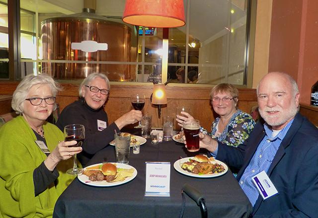 Shelly Selstad, Jackie Trucker, Linda Slattengren and John Selstad
