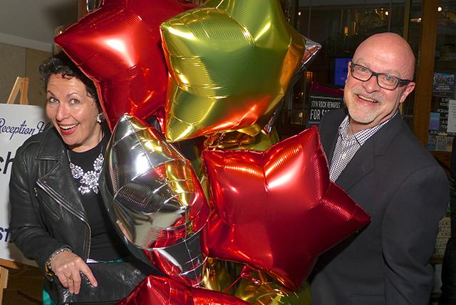 Alison Smith and Twin Cities Gay Men's Chorus executive director Jeff Heine