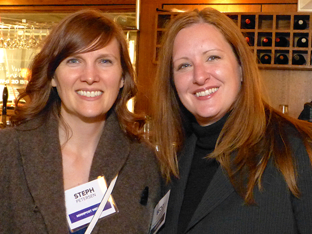 Steph Peterson and Becky Ludvigson