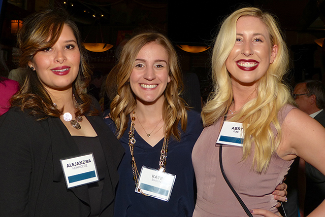 Alejandra Henriquez, Kate Braun and Abby Rime
