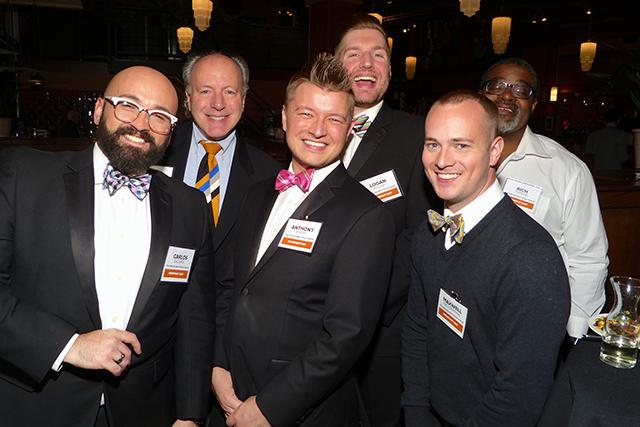 Members of the Twin Cities Gay Men's Chorus ensemble OutLoud!