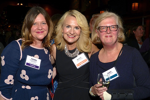 Fawn Bernhardt-Norvell, Mary Lahammer and Judy Brunswick