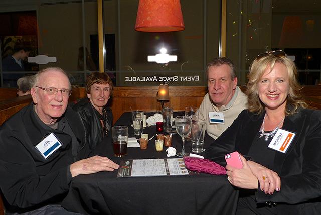 Joel Hutchison, Joan Hutchison, Alvin Hutchison and Michelle Hutchison