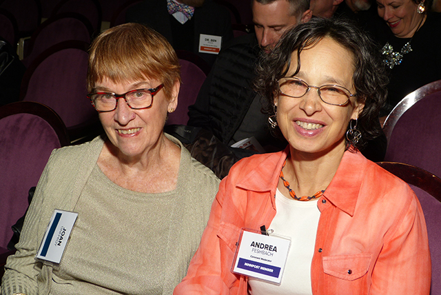 Joan Onffroy and Andrea Feshbach