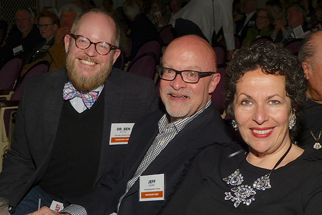 Dr. Ben Riggs and executive director Jeff Heine, and Alison Smith