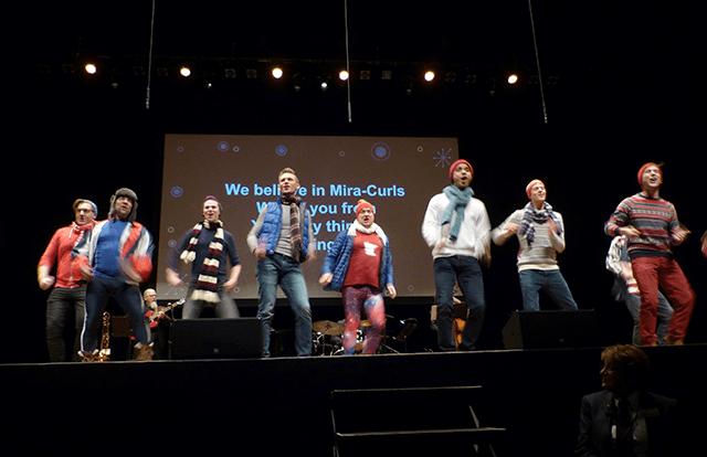 Twin Cities Gay Men's Chorus ensemble OutLoud! close the show