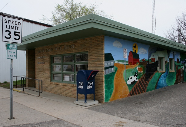 The post office in Randolph is facing reduced hours, dropping from eight daily to four.