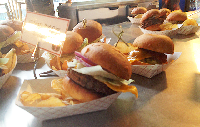 Ultimate Red Cow Burgers